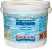 Chlore multifonction seau 5kg - Laque brillante glycéro intérieur/extérieur 2,5L rouge basque - Gedimat.fr