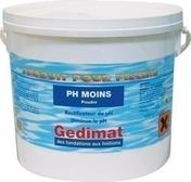 Correcteur de pH MOINS en poudre seau de 5 kg - Tuile CANAL A TENONS 230-50 à tenons coloris vieilli - Gedimat.fr
