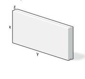 Bloc b�ton cellulaire long.60cm haut.25cm �p.40cm  - B�ton cellulaire - Mat�riaux & Construction - GEDIMAT