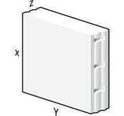 Bloc béton cellulaire Maxi 60x60cm ép.24cm - Plaque de platre hydrofuge BA18 KNAUF KH HYDRO ép.18mm larg.1,20m long.2,70m - Gedimat.fr