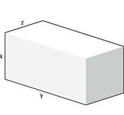Bloc béton cellulaire GIGABLOC long.120cm haut.60cm ép.24cm - Bombe de peinture aérosol déco 400ml noir satin - Gedimat.fr
