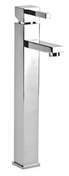 Mitigeur lavabo grand modèle SCUBA laiton chromé - Angle intérieur universel pour bandeau alvéolaire NICOLL BELRIV Système coloris blanc - Gedimat.fr