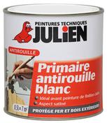 FERI'PRIM Primaire antirouille blanc 0,5 L - Laque satinée glycéro intérieur-extérieur 0,5L ton bois - Gedimat.fr