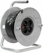 Enrouleur bricolage avec câble 40m H05VV-F 3G1,5 - Plaquette de parement MUROK MONTANA ép.1,5cm long.1m larg.54cm coloris gris - Gedimat.fr