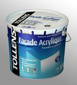 Peinture façade acrylique monocouche Ton pierre mat 10L + 20% Gratuits - Peintures façades - Peinture & Droguerie - GEDIMAT