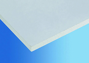 Plaque de plâtre prépeinte BA 13 KNAUF SNOWBOARD ép.12,5mm larg.1,20m long.2,60m - Pack coulissant 2 vantaux mélaminés blanc haut.2,50m larg.1,53m - Gedimat.fr