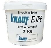 Enduit à joint prêt à l'emploi KNAUF EJPE seau de 7kg - Plaque fibres-gypse FERMACELL GREENLINE 2BA ép.12,5mm larg.0,60m long.2,60m - Gedimat.fr