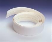 Bande armée flexible pour renfort d'angle ULTRAFLEX rouleau de 30,5m - Plinthe PVC pour sol vinyle lames  ép.10mm larg.60mm long.2020mm blanche - Gedimat.fr