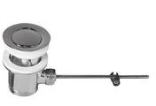 Bonde de lavabo pour fermeture à tirette laiton chromé - Panneau rayonnant Sundoro Horizontal Blanc 1500W - Gedimat.fr