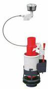 Mécanisme de chasse d'eau à double poussoir à câble - WC - Mécanismes - Salle de Bain & Sanitaire - GEDIMAT