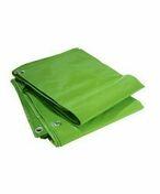 Bâche de protection légère toile tissée indéchirable larg.2m long.3m vert - Bâches - Outillage - GEDIMAT