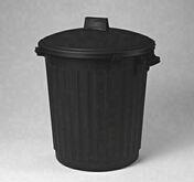 Poubelle 80L avec couvercle Noire - Enduit de parement minéral manuel épais à la chaux aérienne WEBER.CAL PF sac 25 kg Crème teinte 041 - Gedimat.fr