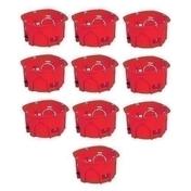 Boîte d'encastrement 1 poste pour cloison creuse diam.67mm prof.40mm vendu en lot de 10 pièces - Sous couche plaque de plâtre J6 JULIEN bidon de 10 litres + 20% gratuit - Gedimat.fr