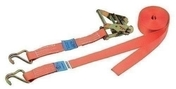 Sangle d'arrimage avec cliquet plateau larg.35mm long.4m coloris orange - Chaines - Cordes - Arrimages - Quincaillerie - GEDIMAT