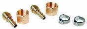 Kit 2 raccords tétine pour tuyau + 2 colliers - Soudure - Couverture & Bardage - GEDIMAT