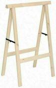 Tréteau en bois (Pin) haut.1m larg.73,5cm - Etais - Tréteaux - Outillage - GEDIMAT