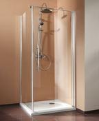 Paroi de douche VISION haut.1,90m long.90cm verre transparent - Portes - Parois de douche - Salle de Bain & Sanitaire - GEDIMAT