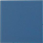 Carrelage pour sol ou mur en grés émaillé dim.10x10cm coloris blue 1 - Tuile de rive bardelis gauche ROMANE TBF coloris brun rustique - Gedimat.fr
