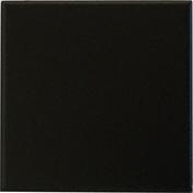 Carrelage pour sol ou mur en grés émaillé dim.10x10cm coloris black - Rive individuelle droite à emboîtement PROVINCIALE/STANDARD 14 coloris vieilli masse - Gedimat.fr