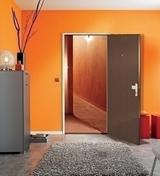 Seuil à la Suisse bois exotique rouge long.95cm - Quincaillerie de portes - Menuiserie & Aménagement - GEDIMAT