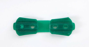 Clips de fixation FIXATEX coloris vert - Brises-vue - Canisses - Aménagements extérieurs - GEDIMAT