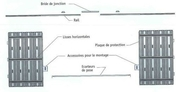 Caisson à galandage (marque Doortech) pour porte double sans porte haut.2,03m larg.1,60m - Chevêtre ULYSSE section 17x12 cm long.2.40m - Gedimat.fr