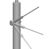 Départ poteau cable pour gamme garde-corps en inox par lot de 5 pièces - Carré potager sur pieds réglable long.80cm prof.60cm haut.80 à 100 cm - Gedimat.fr