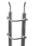 Tube cintré pour gamme garde-corps en inox par lot de 5 pièces - Balustrades et Garde-corps intérieurs - Bois & Panneaux - GEDIMAT