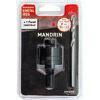 Mandrin pour scie-trépan bimétal hss avec foret centreur - Réduction conique de même diamètre émaillé diam.180-180mm - Gedimat.fr