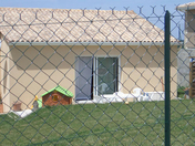 Grillage simple torsion vert maille 50x50 haut.1,75m long.25m - Réduction droite en pvc diam.12,5/15cm blanc - Gedimat.fr