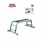 Plate forme de montage en aluminium haut.69cm long.137cm - About d'arêtier grand modèle à emboîtement coloris vieilli masse - Gedimat.fr