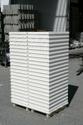 Carreau de plâtre standard plein PF3 ép.10cm larg.37,5cm long.66,6cm - Grès cérame brillant. Dim. 47.1x47.1 cm - Gedimat.fr