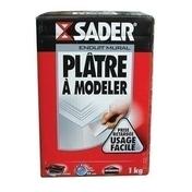 Plâtre à modeler boîte carton 1kg - Plâtres en poudre - Matériaux & Construction - GEDIMAT
