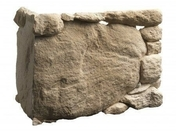 Chaîne d'angle plaquettes de parement en pierre reconstituée GRAND CANYON larg.21cm long.42cm coloris naturel - Attache PREGYMETAL M6-0/18-120 boite de 50 pièces - Gedimat.fr