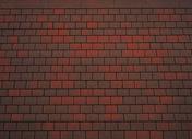 Bardeau bitumé épais forme carrée TOISITE BRUN FLAMME 41 - Plaques de couverture - Couverture & Bardage - GEDIMAT