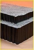 Plaque de retention d'eau pour TERRASSE NIDAROOF 100-2F - Tablette mélaminée 4 chants ép.18mm larg.20cm long.1,20m Blanc givré - Gedimat.fr