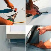 Platine PVC MONARPLAN EEP gris diam.50 - Quincaillerie de couverture et charpente - Quincaillerie - GEDIMAT