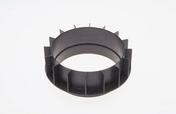 Bagues de réhausse PLOT ZOOM 40mm - Escalier hélicoïdal kit KLAN acier/bois diam.1,40m haut.2,53/3,06m finition noir/bois clair - Gedimat.fr