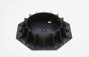 Vérin réglable PLOT ZOOM 60-105 - Dalle en béton ESPACE ép.2,5cm dim.50x50cm coloris Ardèche - Gedimat.fr