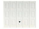 Porte de garage basculante tablier m�tallique � cassettes avec portillon droit haut.2,00m larg.2,40m - Portes de garage - Menuiserie & Am�nagement - GEDIMAT
