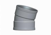 Coude PVC CR8 FF 15° diam.160mm TYPE SDR 34 - Bande de chant mélaminé pré-encollé ép.4mm larg.23mm long.100m Chêne Daimyo - Gedimat.fr