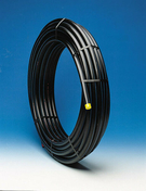 Tube polyéthylène gaz diam.32mm calibre 25mm couronne de 25m - Chevêtre ULYSSE mur section 15x16 cm long.1.80m - Gedimat.fr