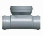 Té de curage FFF diam.400X315mm - Tuyaux - Gaines - Grillages avertisseurs - Matériaux & Construction - GEDIMAT