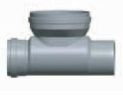 Té de curage MFF diam.400X315mm - Tuyaux - Gaines - Grillages avertisseurs - Matériaux & Construction - GEDIMAT