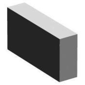 Plotet béton plein ép.5cm haut.11cm long.22cm - Blocs béton - Matériaux & Construction - GEDIMAT
