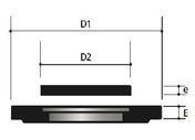 Couronnement de regard béton TP 60x60 pour grille concave 50x50 - dim.77x77cm ép.13cm - Carrelage pour sol en grès cérame émaillé coloré dans la masse NYC dim.45x45cm coloris soho - Gedimat.fr