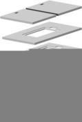 Couvercle béton monobloc pour niche compteur d'eau 60x40 long.68cm larg.48cm ép.4cm - Carrelage pour sol en grès cérame émaillé rectifié GENESIS LOFT dim.60x60cm coloris mineral - boîte de 1,08m² - Gedimat.fr