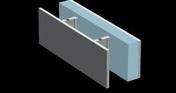 Bloc béton à bancher VERTITHERM angle/linteau ép.20cm haut.25cm long.50cm - Poutre VULCAIN section 25x30 cm long.6,00m pour portée utile de 5,1 à 5,60m - Gedimat.fr