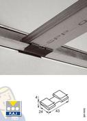 Clip assemblage 34-23 pour fourrure - boîte de 100 pièces - Raccord pare-vapeur P449 SI larg.75mm long.66m - Gedimat.fr
