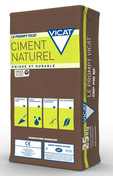 Ciment  PROMPT VICAT CNP PM NF sac de 25kg - Lanterne bi-section diam.120/150mm coloris pastel - Gedimat.fr